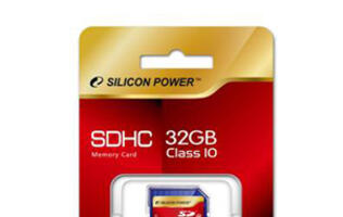 Silicon Power Releases SDHC Class10 32GB Memory Card