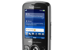 Sony Ericsson Spiro Marries Walkman with Social Networks