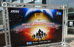 Live from Taipei - MSI Master Overclocking Arena 2010
