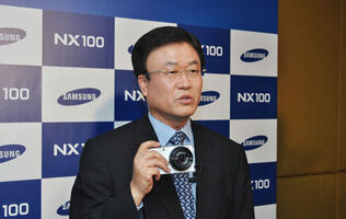 Samsung Launches NX100 Digital Camera in Hong Kong
