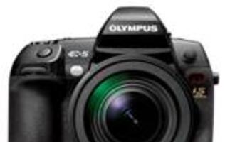 New Top of the Line Digital SLR from Olympus - The E-5