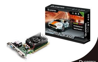 Leadtek releases WinFast GT 430 with 10% lower GPU temperature