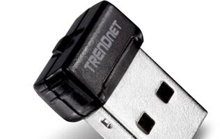 TRENDnet Launches World's Smallest Wireless N USB Adapter