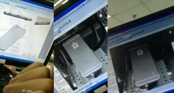 images of alleged apple iphone 6 prototype from foxconn